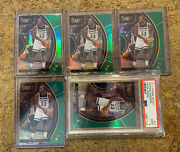 Andrew Wiggins 1/1 Panini Select Courtside Refractor Prizm Lot All Five /5 Green