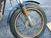 Original 1975 Vintage Harley Amf Aermacchi Ss250 Sx 250 175 Ss Front Fender