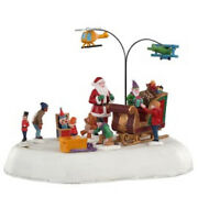 Lemax -jolly Toys -holiday Village Animated -train Accent-