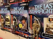 """The Last Starfighter Figure Set Of 3 Collectables Exclusive 62/100 Custom 3 3/4"""""""
