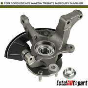 Wheel Hub Bearing Knuckle Assembly For Ford Escape Mazda Front Left 2005-2012