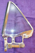 1964 1/2 1965 1966 Mustang Coupe Gt Sprint Orig Ds Lh Clear Quarter Side Window
