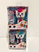 Little Live Wrapples - Una Furry Friend Electronic Arm Band Toys Lot 2 New