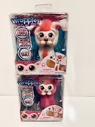 Little Live Wrapples - Princeza And Bonnie Electronic Arm Band Toys Lot 2 New