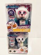 Little Live Wrapples - Pandaz And Luna Electronic Arm Band Toys Lot 2 New