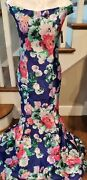 New My Michelle Floral Prom Dress Size 11 Beautiful