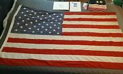 American Flag Flown Over Lambeau Field On May 1st, 2001. Packers May Day Flag