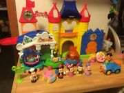 Little People Discover Disney World Mickey Mouse Castle Music And Fireworks