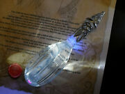 Hand-crafted Elvish Glass Phial Filled With Liquid Turns Blue Under Uv Light.