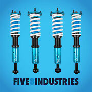 Five8 Industries Coilovers Full Height Adjustable For Lexus Sc430 2002-2010