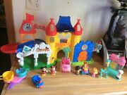 Fisher Price Little People Day At Disney Magic Kingdom Playset W/ Accessories