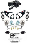 1967-69 Camaro 9 Dual Disc Brake Kit Wilwood Calipers And Suspension Coil Overs