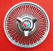 1965 Mustang Hollow Wire - Really Nice. Red, White And Blue Spinner. 15 Across