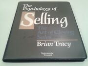 The Psychology Of Selling The Art Of Closing Sales Brian Tracy   6 Pack Cassette