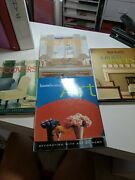 Design Books Lot Of 4 House Beautiful Lighting, Art, Spaces, And Slipcovers