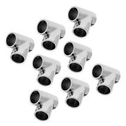 8piece Handrail 7/8 60 Degree Rail Fitting Stainless Steel 316 For Boat Marine