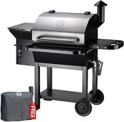 Z Grills Wood Pellet Bbq Grill And Smoker Outdoor W/ Digital Control Free Cover