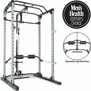Fitness Reality 810xlt Super Max Power Cage With Optional Lat Pull-down Attachme