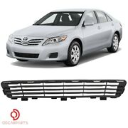 Fits Toyota Camry 2010 2011 Front Bumper Lower Grille Matte Black