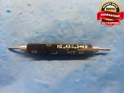 M1.4 X .3 4h Metric Thread Plug Gage 1.4 0.3 Go No Go P.d.and039s = 1.205 And 1.254