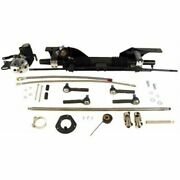 Unisteer 8010820-01 Rack And Pinion Power Aluminum Rack Kit For 1967 Ford Mustang