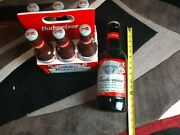 Limited Edition Budweiser Glass 15 Inch Beer Bottle Jug And Jar Lot Collectible