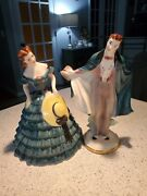 1940s Goldcrest Creation China Figurines Southern Beau And Belle By Peggy Porcher