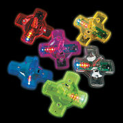 Light-up Spin Tops - 12 Pieces