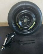 2012 Sonata Compact Spare Donut With Jack Assembly Oem T125/80d16