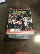 1983 Sports Illustrated - Partial Run 39/52 Issues - Condition Fair/excellent