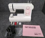 Rare Janome Home L 344 Limited Edition Sewing Machine Working Opened Box