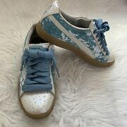 Rare Clyde Poison Frog Collection Men's Size 6 - Women Size 8 Blue Sneaker