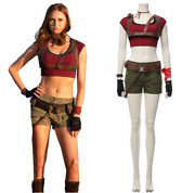 Movie Jumanji The Next Level Ruby Roundhouse Cosplay Costume Costume Full Suit @