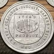 School Trade Tokens Itenand039s Cakes Cookies Crackers Biscuit Wafers Clinton Iowa