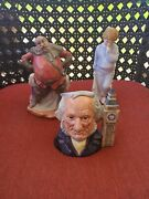 Vintage Royal Doulton Figurines Lot Of 3 Pre Owned