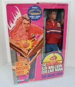 Kenner 1978 The Six Million Dollar Man 3rd Edition Action Figure Factory Sealed