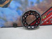 2012 Honda Crf 450r Rear And Front Sprocket + Chain 12 Crf450