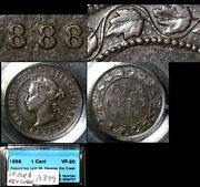 Nice Collection - Canada Large Cent - 1888 - Repunched Last 8 Die Clash B685