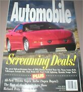 Automobile Magazine April 1993 Ford Probe Gt Single Back Issue