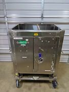 Conecraft 1000l Stainless Steel Bioprocess Biocontainer Bin Tote W/ Load Cells