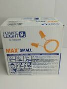 Howard Leight Ear Plugs Corded Bell Pk100 Max-30s Box Of 100 Size Small