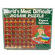 New Sealed Vintage World's Most Difficult Jigsaw Puzzle 500 Pieces 1987