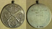 Medalgreat Britain Rifle Club Pistol League 1942-3 Ster. Silver 38mm Irtm397