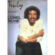 Sheet Music Truly Lionel Richie 164