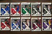 2019-20 Panini Chronicles Baseketball Base/bronze/pink Complete Your Set Updated