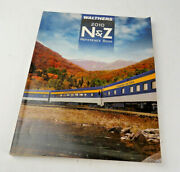 Walthers N, And Z Scale Train Reference Book Catalog 2010