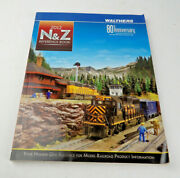Walthers N, And Z Scale Train Reference Book Catalog 2012 80th Anniversary