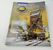 Walthers N, And Z Scale Train Reference Book Catalog 2009