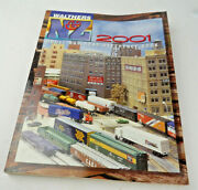Walthers N, And Z Scale Train Reference Book Catalog 2001