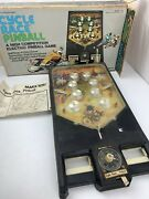 Vintage Cycle Race Electric Pinball Machine Game 1977 Marx Toys 2825